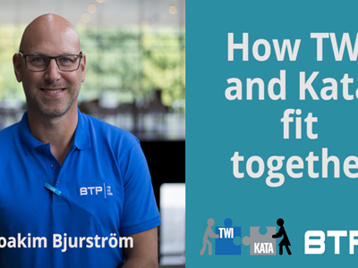 How TWI and KATA fit together by Joakim Bjurström
